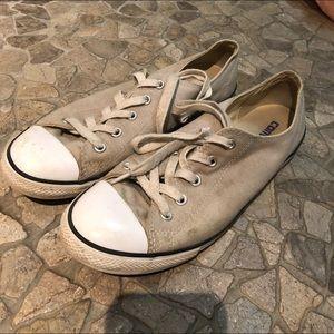 Light Gray Converse